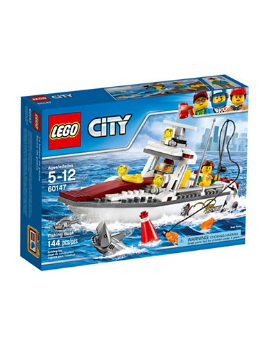 Lego City Great Vehicles Fishing Boat 60147-MULTI-One Size