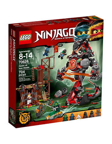 Lego Ninjago Dawn of Iron Doom 70626-MULTI-One Size