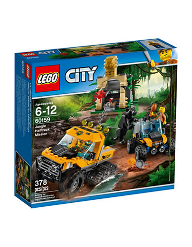 Lego City Jungle Halftrack Mission 60159-MULTI-One Size