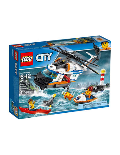 Lego City Heavy-Duty Rescue Helicopter-MULTI-One Size