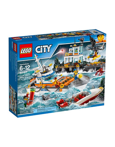 Lego City Coast Guard Headquarters 60167-MULTI-One Size