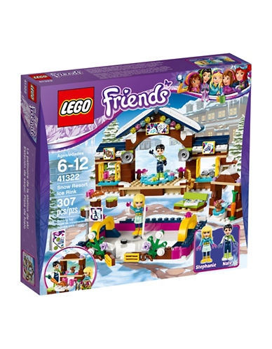 Lego Friends Snow Resort Ice Rink 41322-MULTI-One Size
