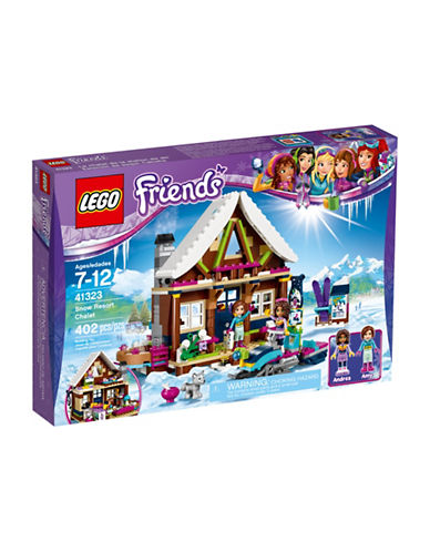 Lego Friends Snow Resort Chalet 41323-MULTI-One Size