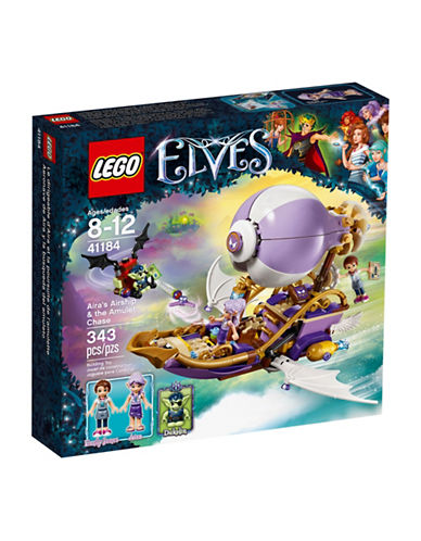 Lego Elves Airas Airship & the Amulet Chase 41184-MULTI-One Size