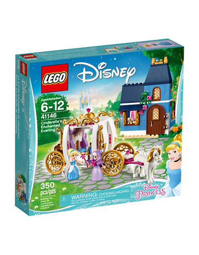 Lego Disney Cinderellas Enchanted Evening Toy Set 41146-MULTI-One Size