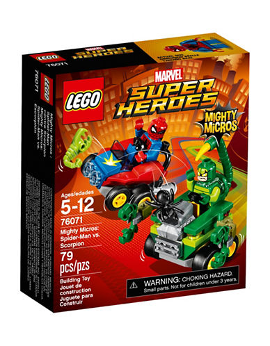 Lego Marvel Super Heroes Mighty Micros Spider-Man vs. Scorpion 76071-MULTI-One Size 88961101_MULTI_One Size