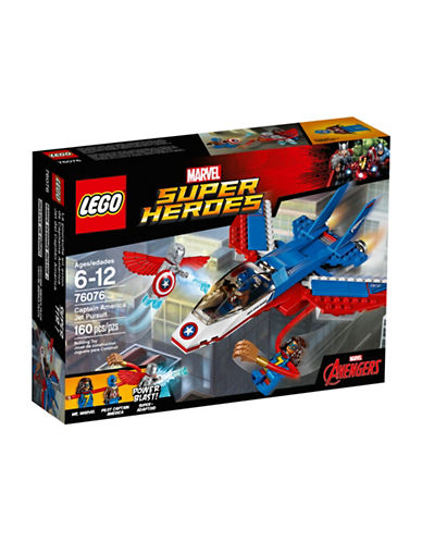 Lego Marvel Super Heroes Captain America Jet Pursuit 76076-MULTI-One Size 88961103_MULTI_One Size