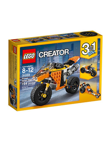 Lego Creator Sunset Street Bike 31059-MULTI-One Size