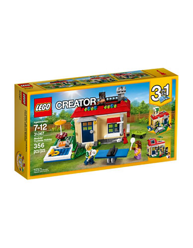 Lego Creator Modular Poolside Holiday Toy Set 31067-MULTI-One Size