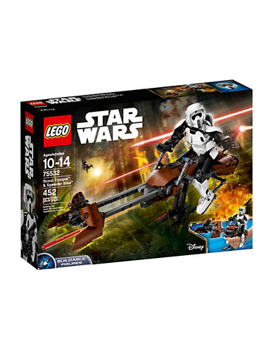 Lego Star Wars Scout Trooper et Speeder Bike 75532 89397647