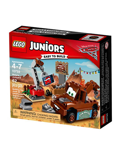 Lego Juniors Cars 3 Mater Junkyard 10733-ASSORTED-One Size