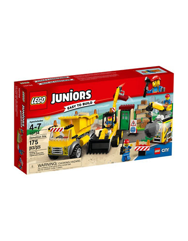 Lego Juniors Demolition Site 10734-MULTI-One Size