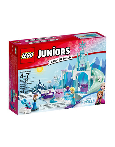 Lego Juniors Anna and Elsa Frozen Playground 10736-MULTI-One Size