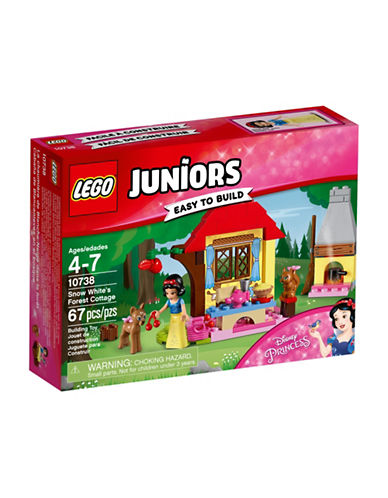 Lego Juniors Snow Whites Forest Cottage 10738-MULTI-One Size
