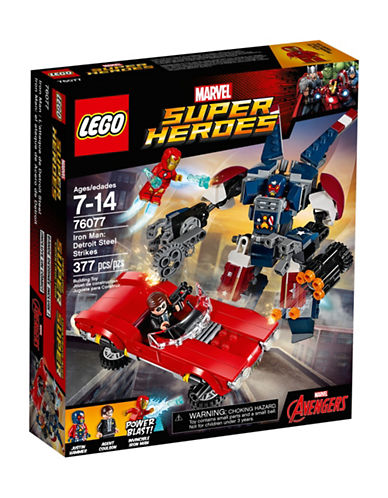 Lego Marvel Heroes Iron Man - Detroit Steel Strikes 76077-MULTI-One Size