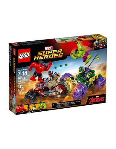 Lego Marvel Super Heroes Hulk vs. Red Hulk 76078-MULTI-One Size