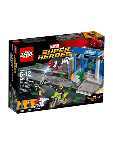 Lego Marvel Super Heroes ATM Heist Battle 76082-MULTI-COLOURED-One Size