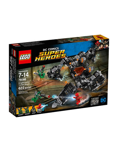 Lego DC Comics Super Heroes Knightcrawler Tunnel Attack-MULTI-One Size