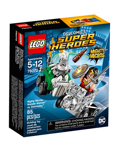 Lego DC Comics Super Heroes Mighty Micros Wonder Woman vs. Doomsday 76070-MULTI-One Size