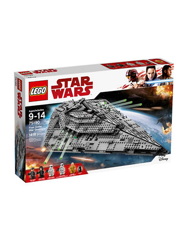 Lego Star Wars First Order Star Destroyer 75190-MULTI-One Size