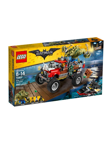 Lego Batman Movie Killer Croc Tail-Gator 70907-MULTI-One Size