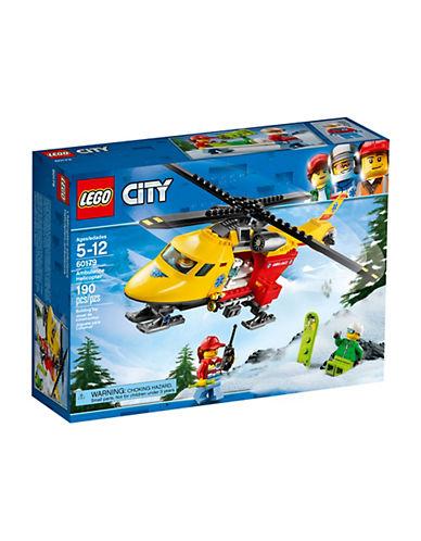 Lego City Ambulance Helicopter 60179-MULTI-One Size
