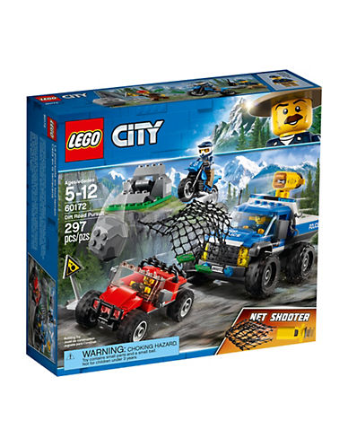 Lego City Police Dirt Road Pursuit 60172-MULTI-One Size