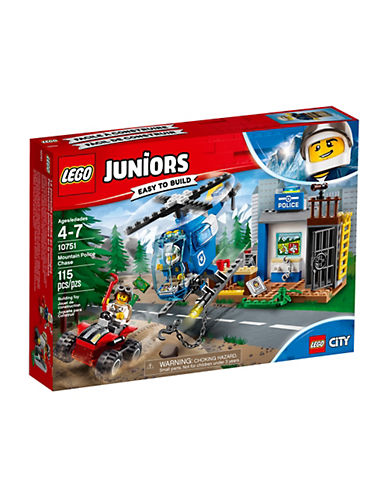 Lego Juniors City Mountain Police Chase 10751-MULTI-One Size