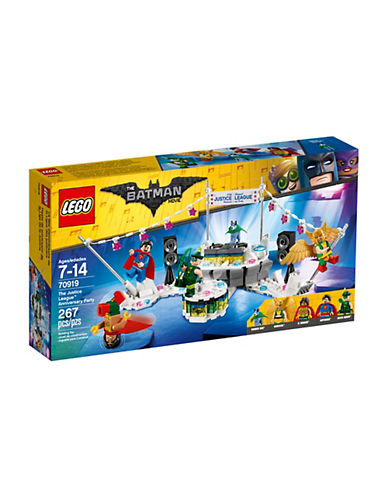 Lego Batman Movie The Justice League Anniversary Party 70919-MULTI-One Size