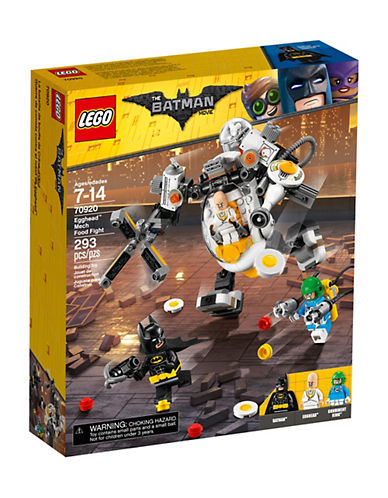 Lego Batman Movie Egghead Mech Food Fight 70920-MULTI-One Size