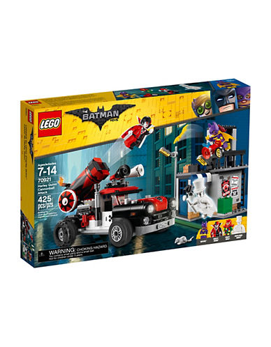 Lego Batman Movie Harley Quinn Cannonball Attack 70921-MULTI-One Size