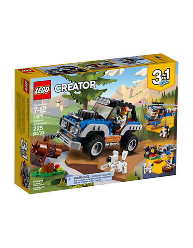 Lego Creator Outback Adventures 31075-MULTI-One Size
