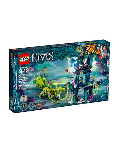 Lego Elves Nocturas Tower & the Earth Fox Rescue 41194-MULTI-One Size