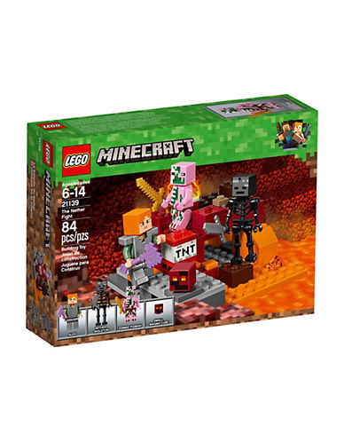Lego Minecraft The Nether Fight 21139-MULTI-One Size