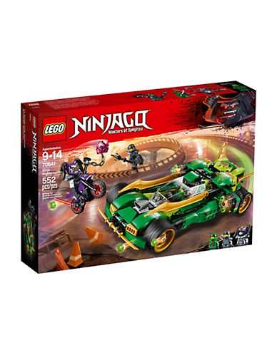 Lego Ninjago Ninja Nightcrawler 70641-MULTI-One Size