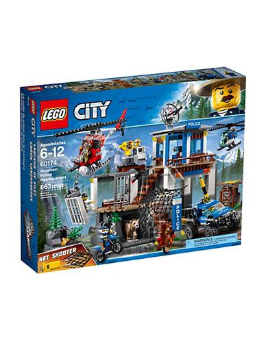 Lego City Mountain Police Headquarters 60174-MULTI-One Size