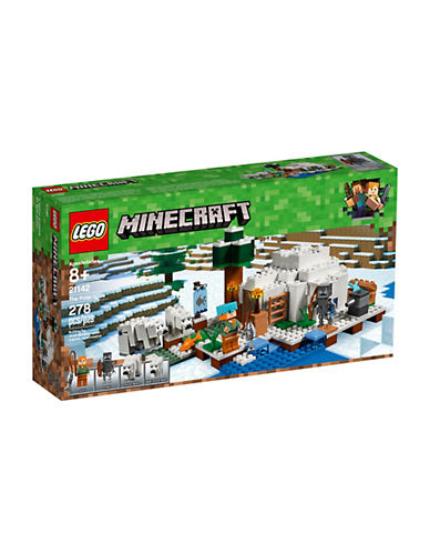 Lego Minecraft The Polar Igloo 21142-MULTI-One Size