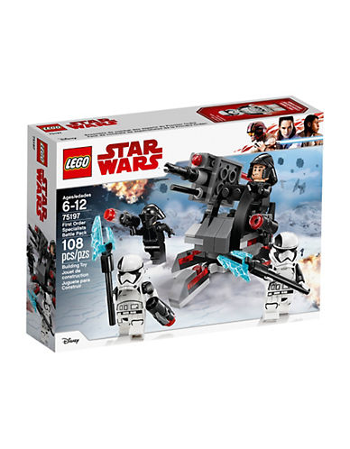 Lego Star Wars First Order Specialists Battle Pack 75197-MULTI-One Size