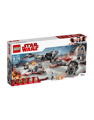 Lego Star Wars Defense of Crait 75202-MULTI-One Size