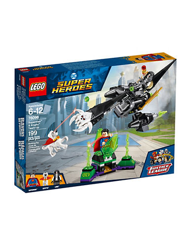Lego Super Heroes Superman & Krypto Team-Up 76096-MULTI-One Size