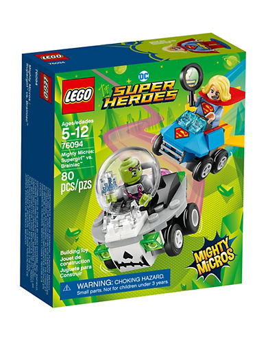 Lego DC Comics Super Heroes Mighty Micros Supergirl vs. Brainiac 76094-MULTI-One Size