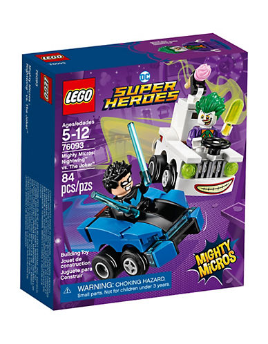 Lego DC Comics Super Heroes Mighty Micros Nightwing vs. The Joker 76093-MULTI-One Size