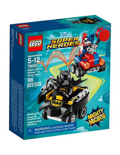 Lego DC Comics Super Heroes Mighty Micros Batman vs. Harley Quinn 76092-MULTI-One Size
