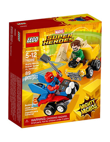 Lego Marvel Super Heroes Mighty Micros Scarlet Spider vs. Sandman 76089-MULTI-One Size