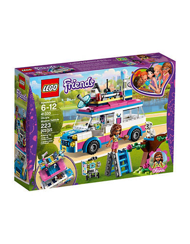 Lego Friends Olivias Mission Vehicle 41333-MULTI-One Size