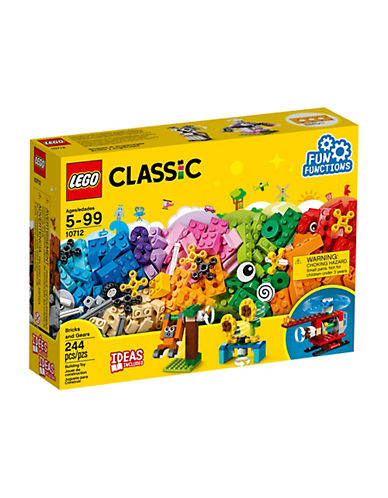 Lego Classic Bricks and Gears 10712-MULTI-One Size