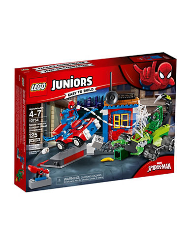 Lego Juniors Spider-Man vs. Scorpion Street Showdown 10754-MULTI-One Size