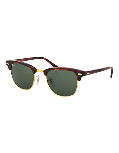 Ray-Ban Classic Clubmaster Sunglasses-TORTOISE-49 mm