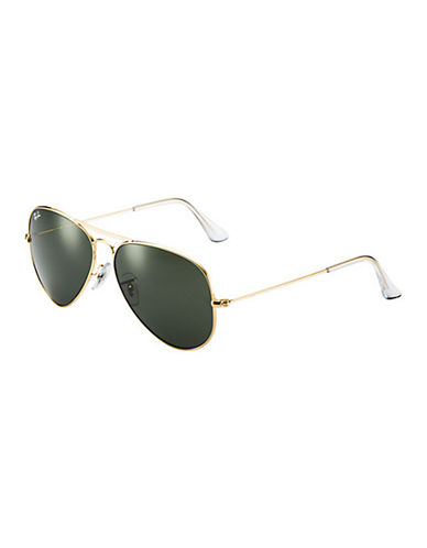 Ray-Ban Original Classic Aviator Sunglasses-GOLD (L0205)-58 mm