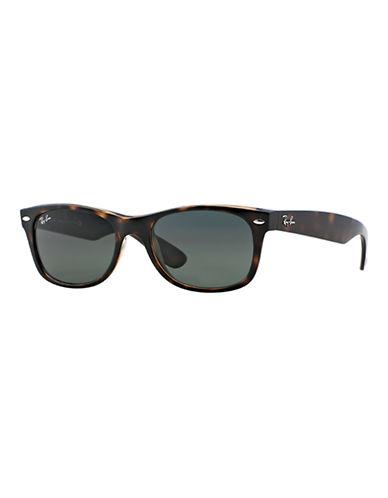 Ray-Ban 55mm Square Wayfarer Sunglasses-DARK TORTOISE-52 mm